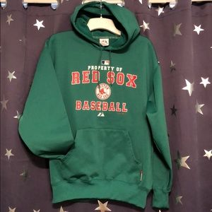 Kelly green Boston Red Sox hoodie